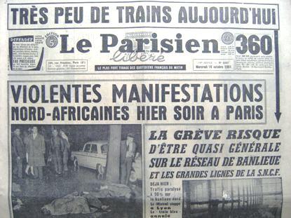 commémoration du 17 octobre 1961 - Page 2 01-_Le_Parisien_18_octobre