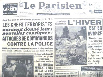 commémoration du 17 octobre 1961 - Page 2 03-_Le_Parisien_19_octobre