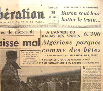 commémoration du 17 octobre 1961 - Page 2 07-_Liberation_20_octobre_-titre
