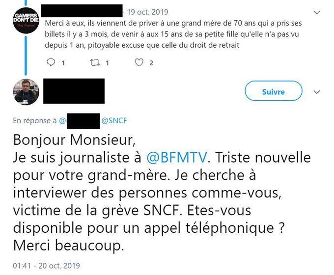 Bonjour Je Suis Journaliste Et Je Cherche Des Temoignages Contre La Greve Acrimed Action Critique Medias