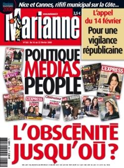 Les unes racoleuses de marianne acrimed action critique m dias - Journal marianne adresse ...