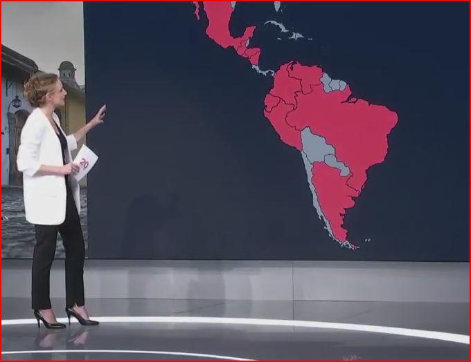 Carte Amerique Latine Uruguay.France 2 Decrypte L Amerique Latine En 2 Minutes Acrimed