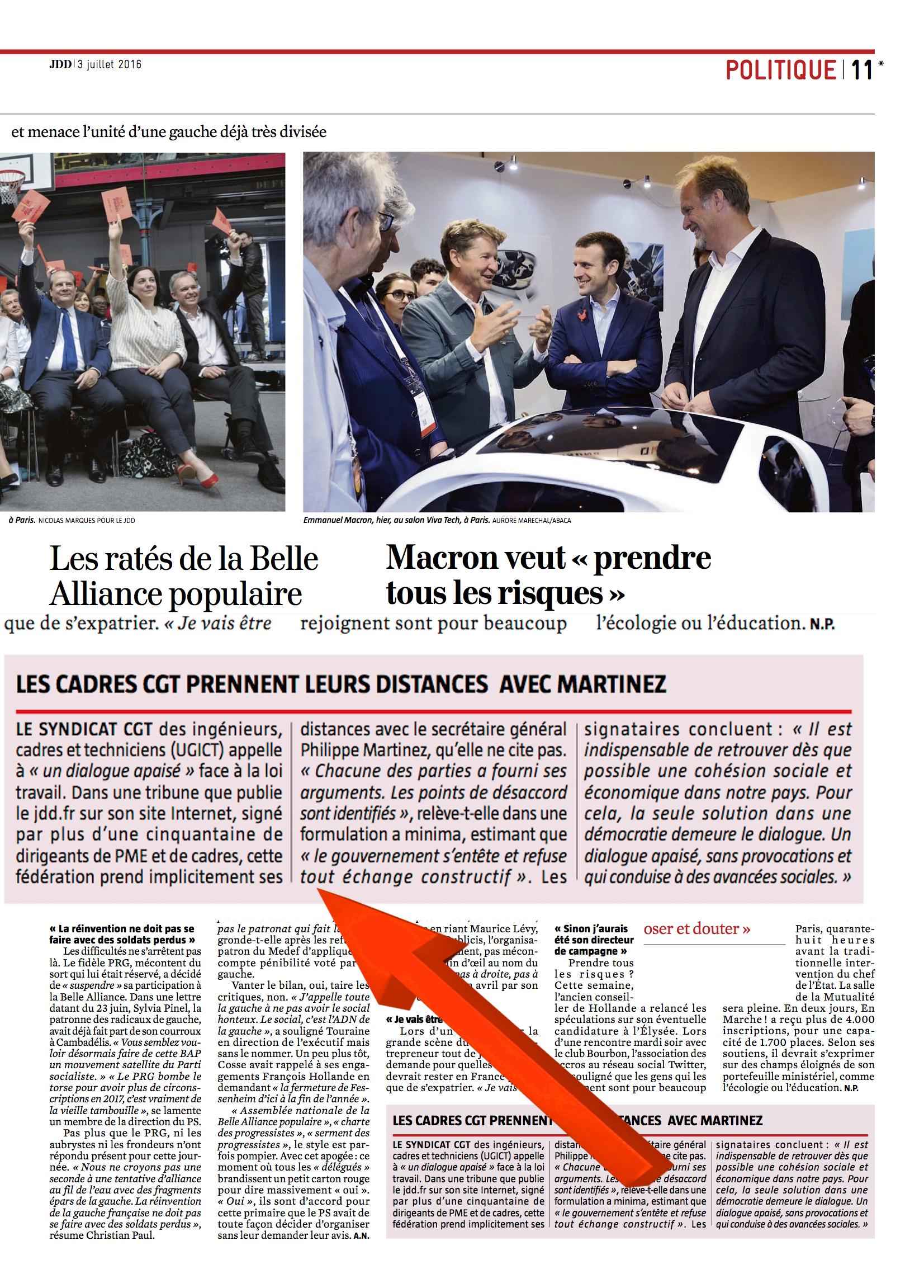 Exemple De Tribune Dans Un Journal - Exemple de Groupes