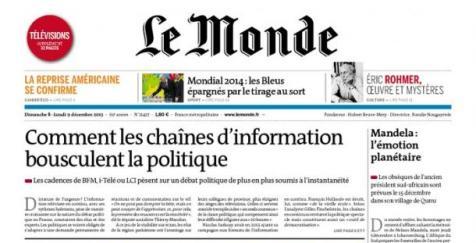 Le journalisme politique du Monde dans le miroir des ...