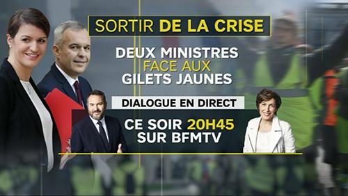 Panique Mediatique Face Aux Gilets Jaunes Acrimed Action Critique Medias