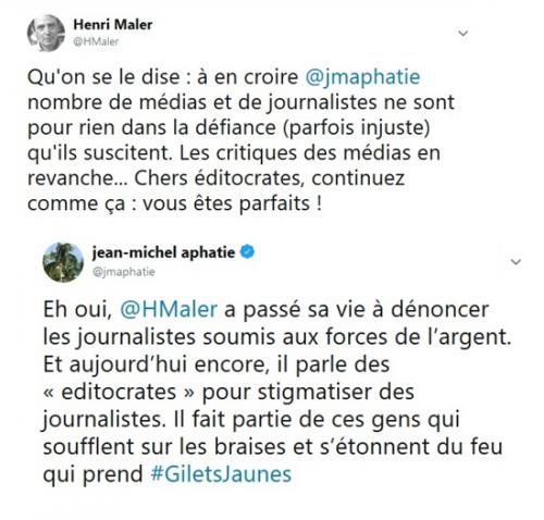 « Violences contre les médias » : amalgames et mauvais procès